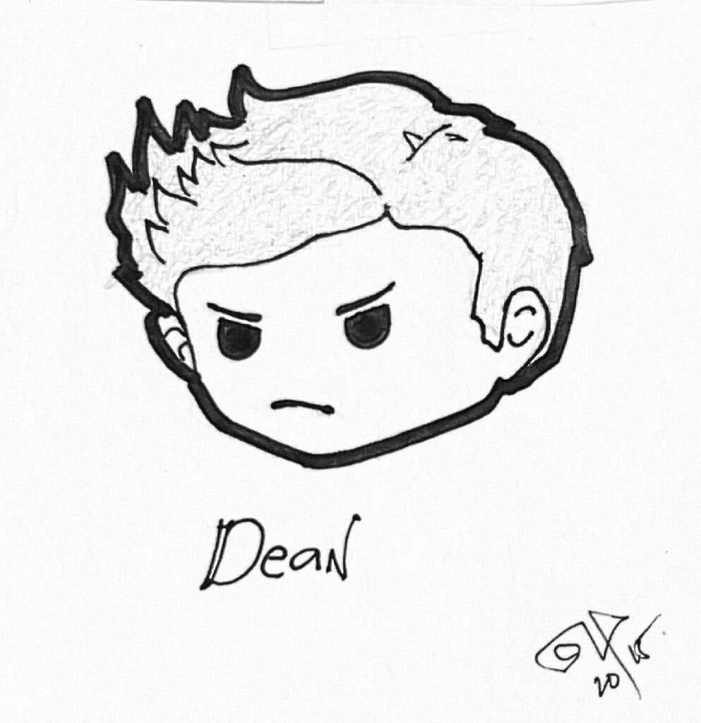 993x1024 Demon Dean And The Ravioli Ghost Supernatural Amino