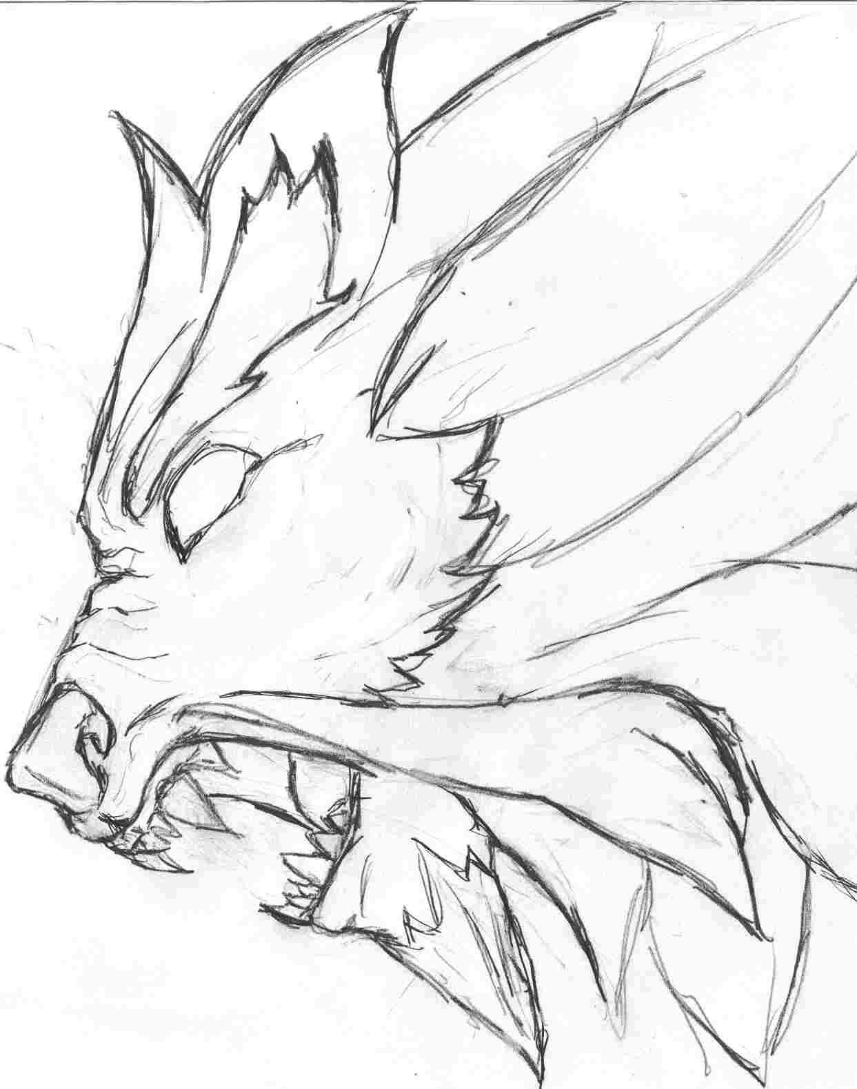 1243x1580 Demon Lion By Unbadass
