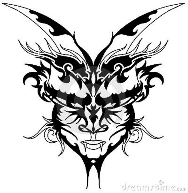 800x822 Demon Tribal Tattoos Elaxsir
