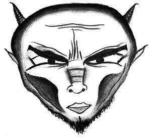 300x273 Evil Eye Drawings