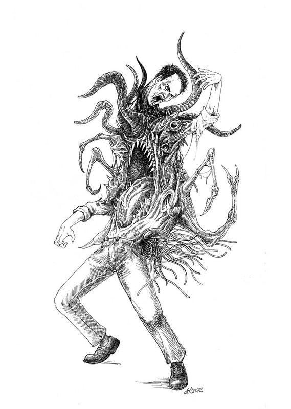 569x800 31 Best Skrill Images On Creepy Drawings, Macabre Art