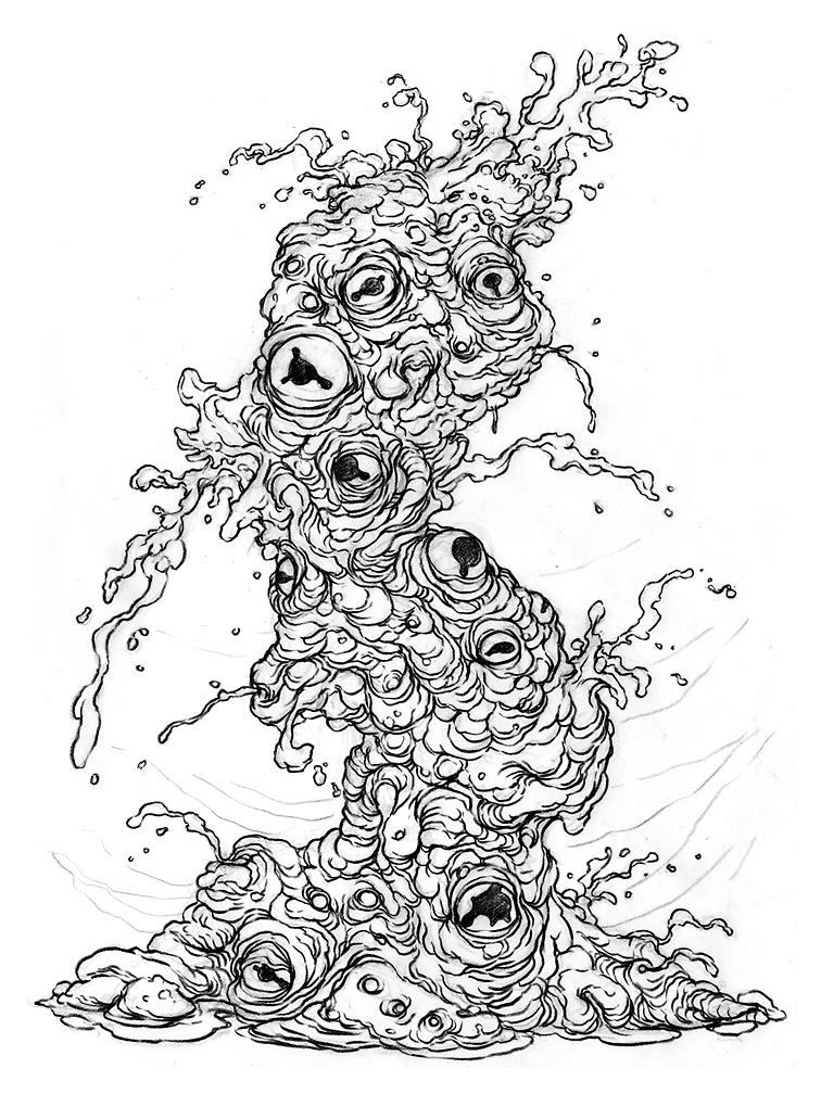 756x1008 The Doodles, Designs, And Art Of Christopher Burdett September 2011