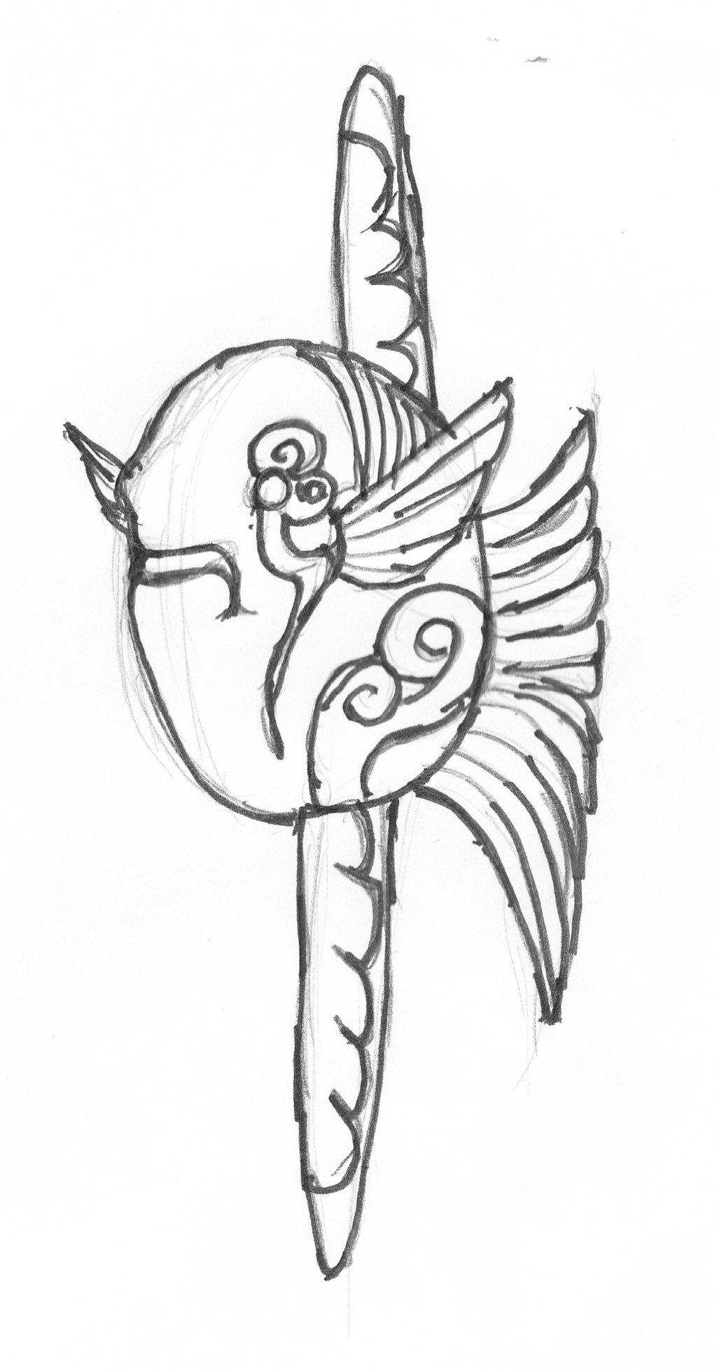 1024x1957 Alternate Demon Sketch