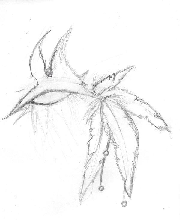 600x735 Demon Eye Sketch By Blueberryjellybean