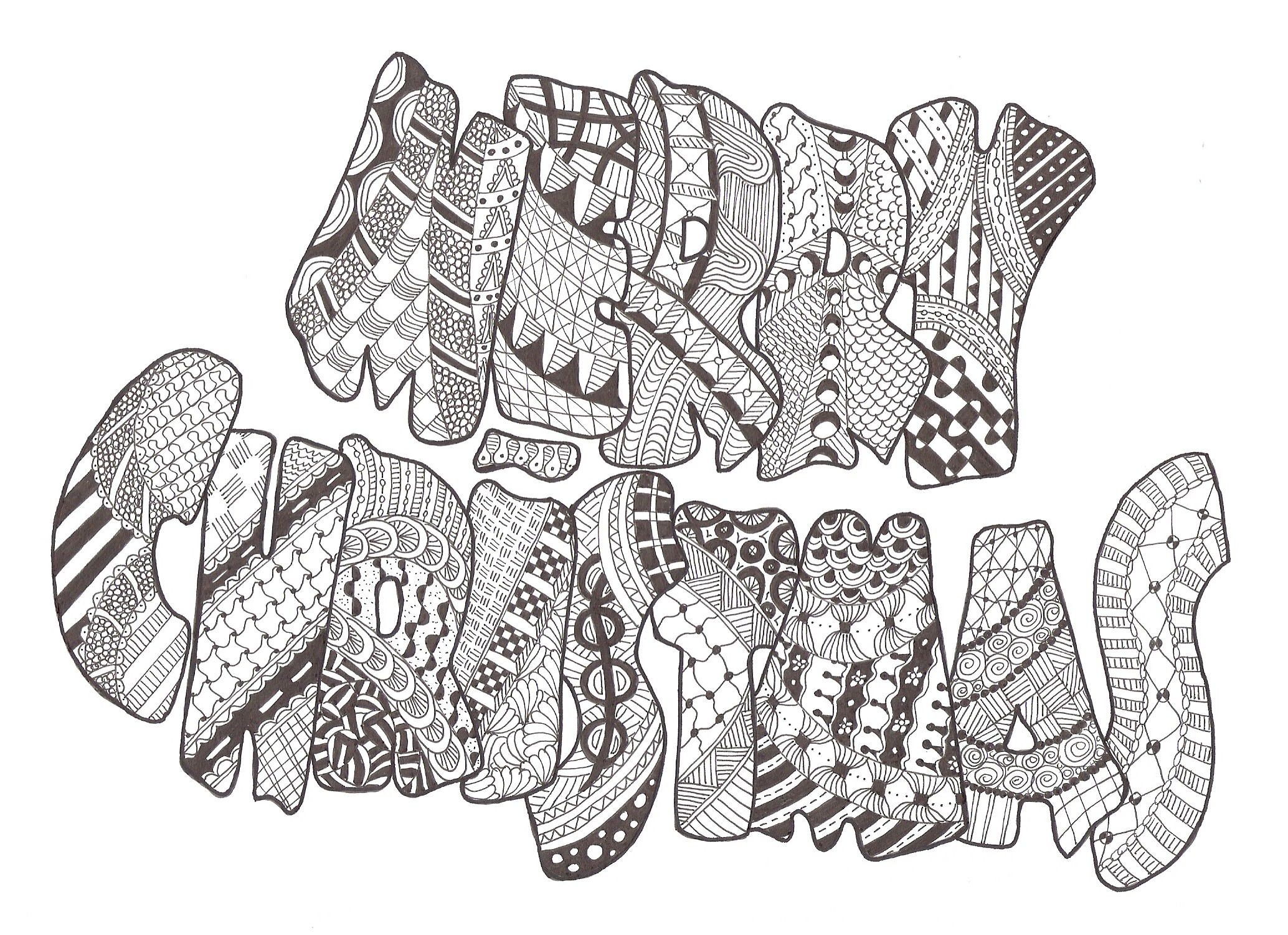 2068x1501 Zentangle Made By Mariska Den Boer 83 Zentangles N Drawings