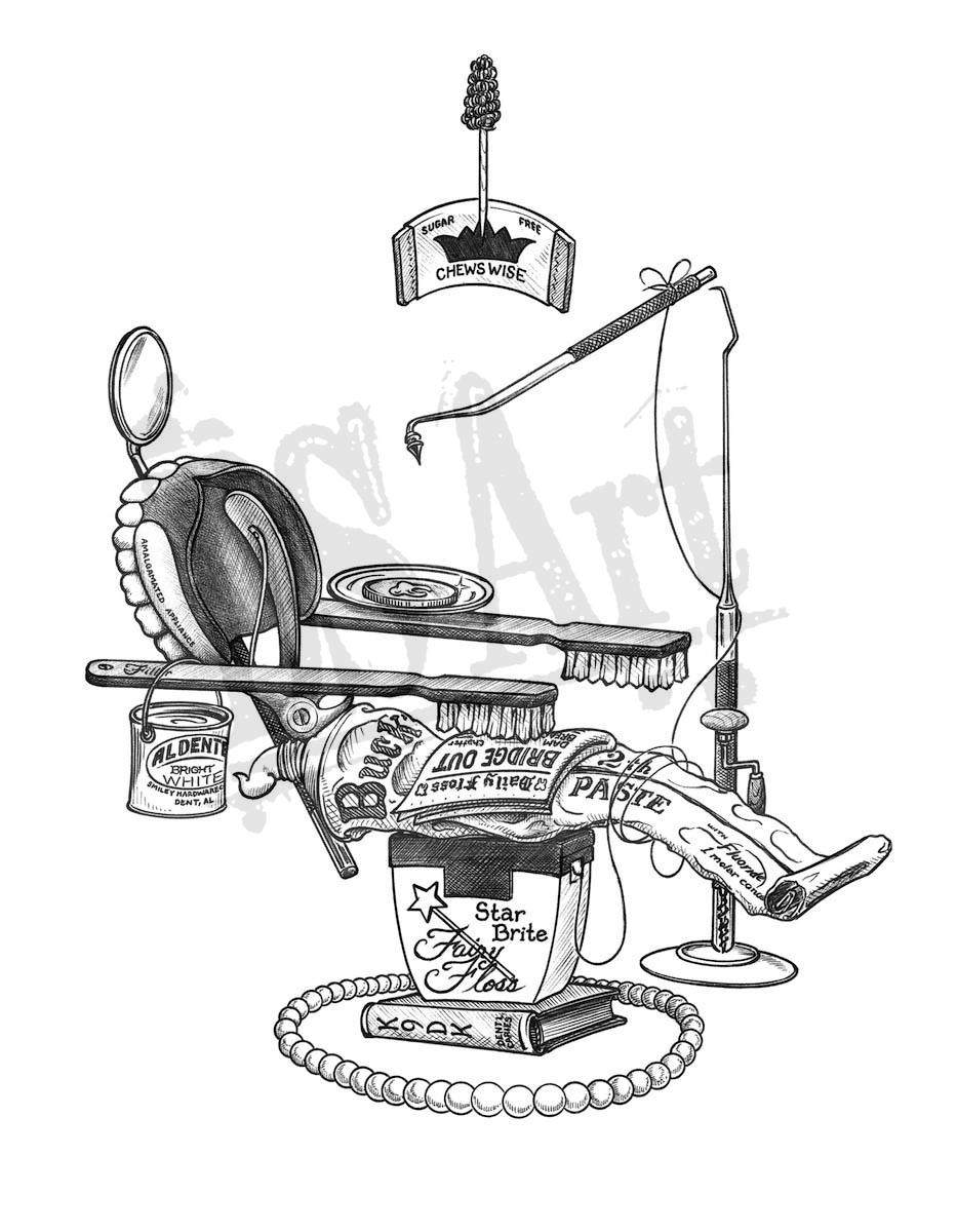 933x1200 Dentist Chair Ds Art