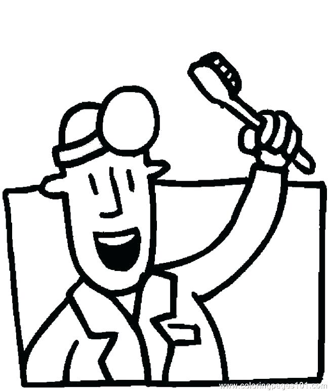 650x772 Dental Coloring Pages Printable