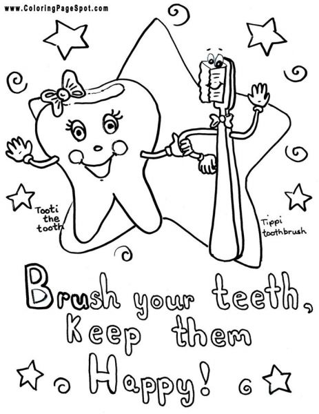 463x600 Free Dental Coloring Pages For Kids Pages To Color Coloring Pages