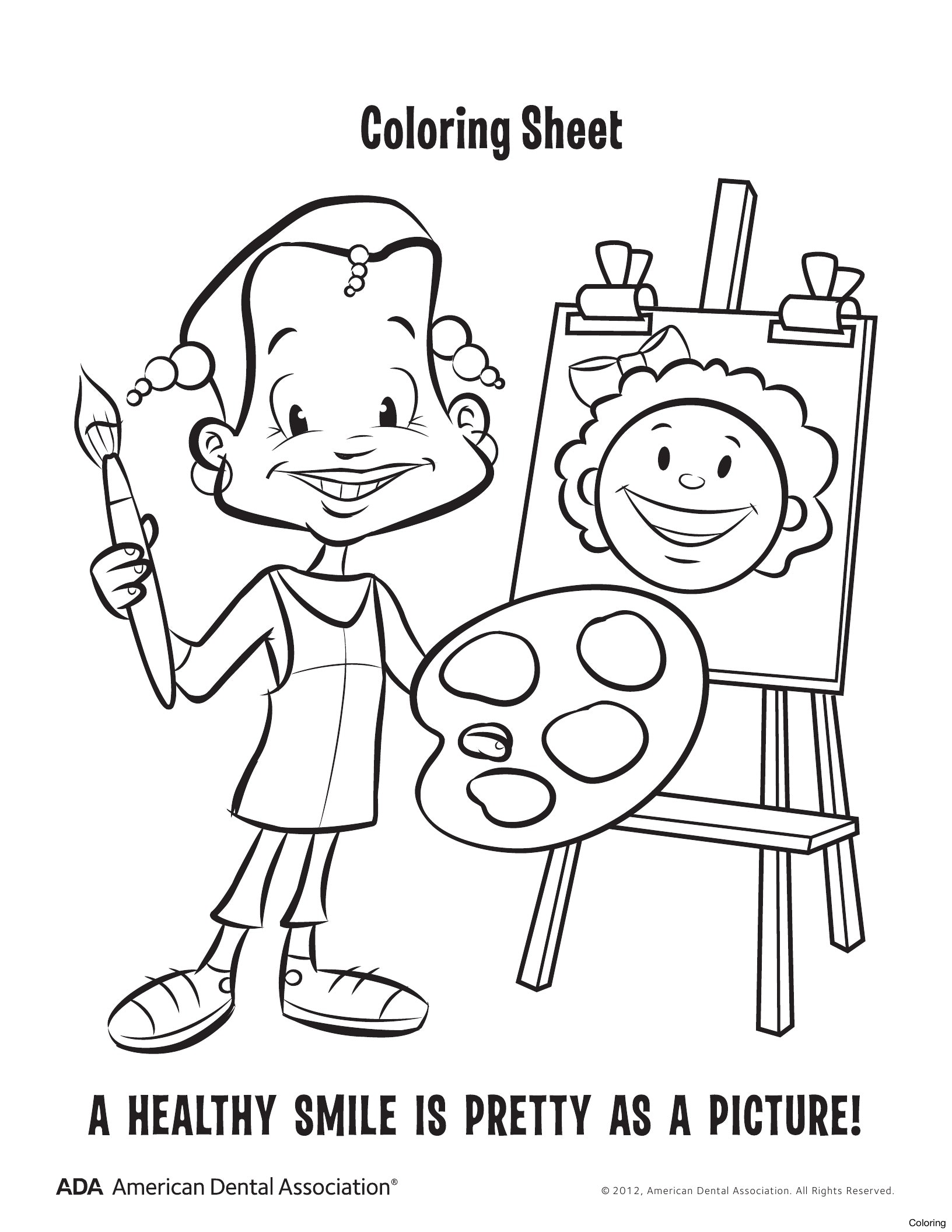 1632x2112 Brushing Teeth Coloring Pages Dentist Dental 2f Office Preschool