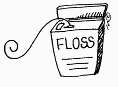 Dental Floss Drawing