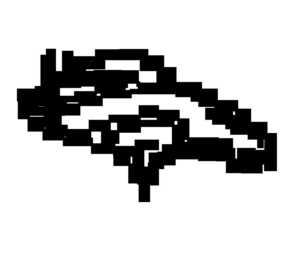 how to draw the broncos logo
