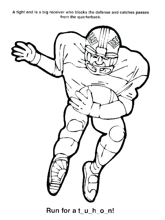 568x759 Broncos Coloring Pages