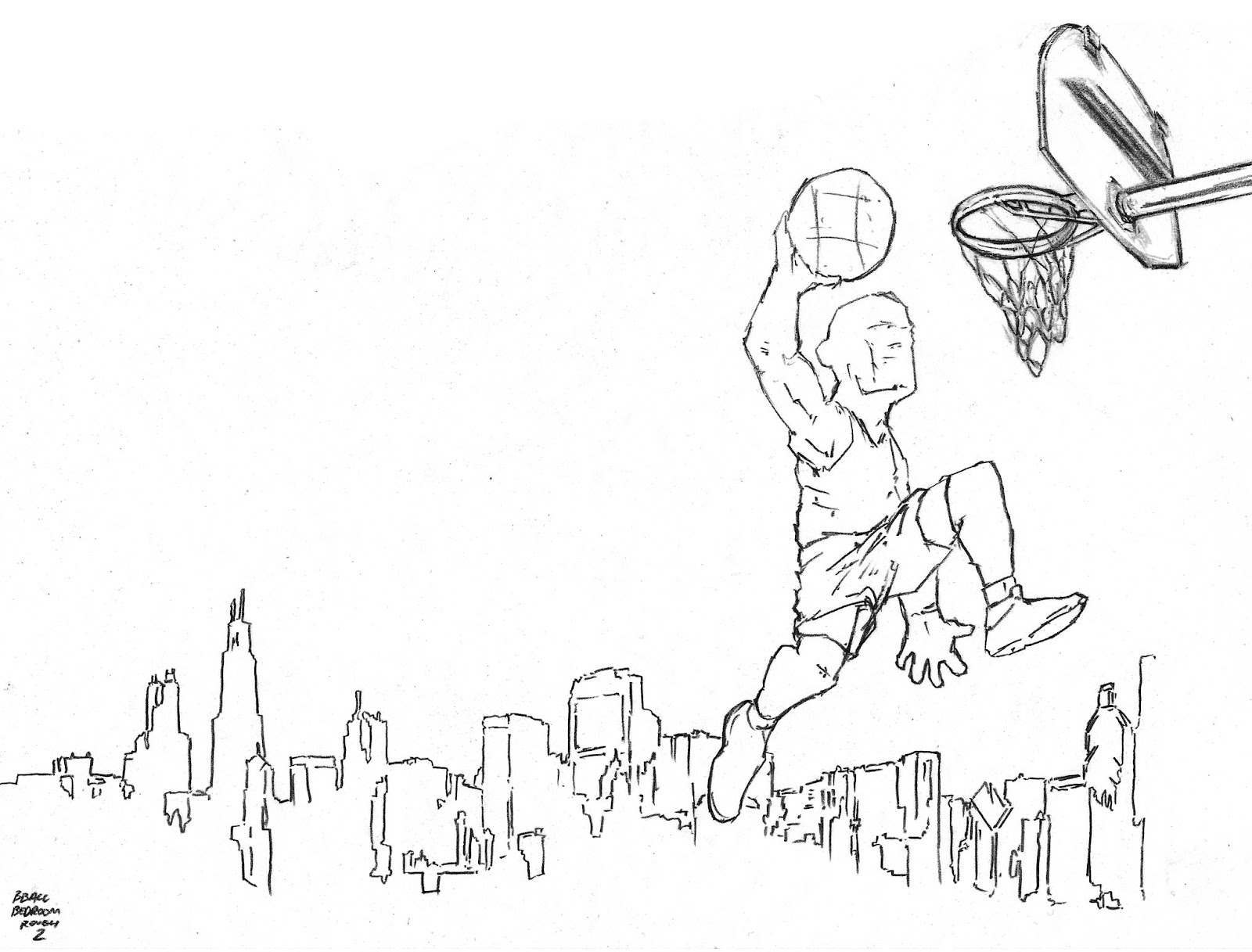 1600x1217 Delton Demarest Arts Derrick Rose Windy City Commission