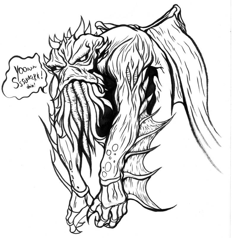 Depressed Drawing