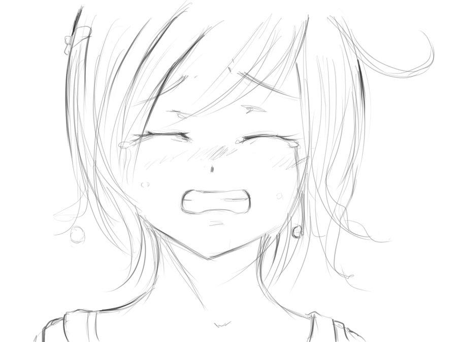 900x675 Drawn Anime Sad