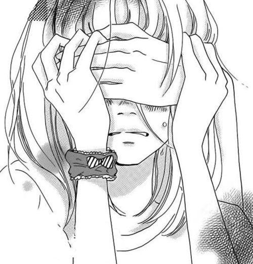 500x522 Manga Girl Sad On Manga Girl, Manga And Geek Culture