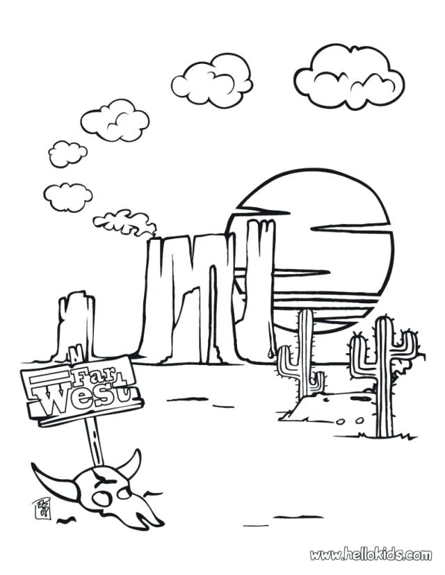 640x827 Desert Landscape Drawings Flyingangels.club