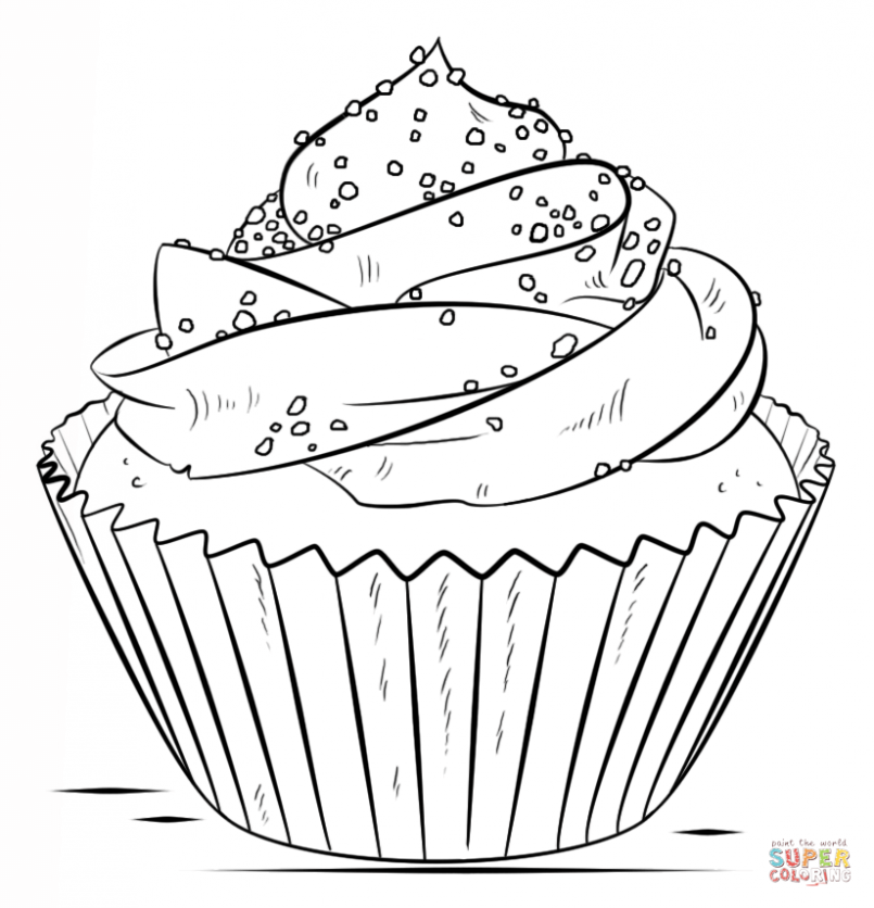 805x836 Coloring Dessert Coloring Pages For Adults In Conjunction