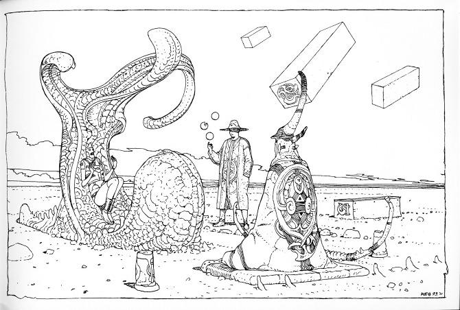 670x452 Moebius ~ 40 Days Dans Le Desert