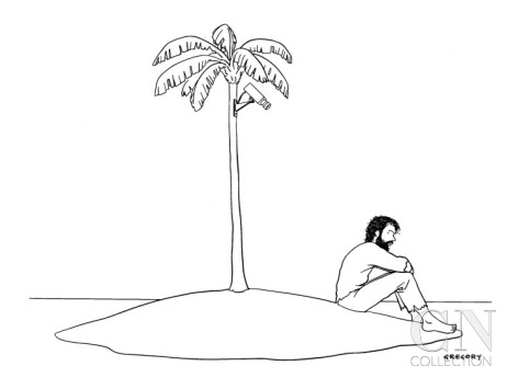 Desert Island Drawing