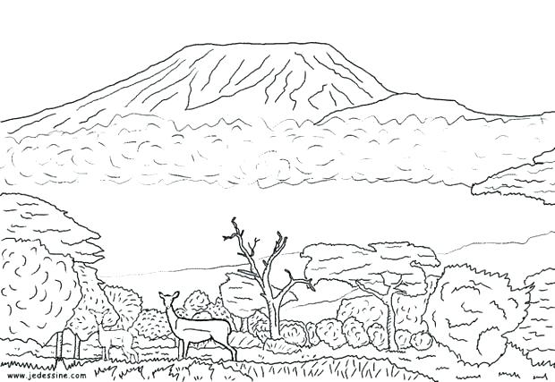 Sahara Desert Coloring Page - Free Coloring Pages Online | 427x620