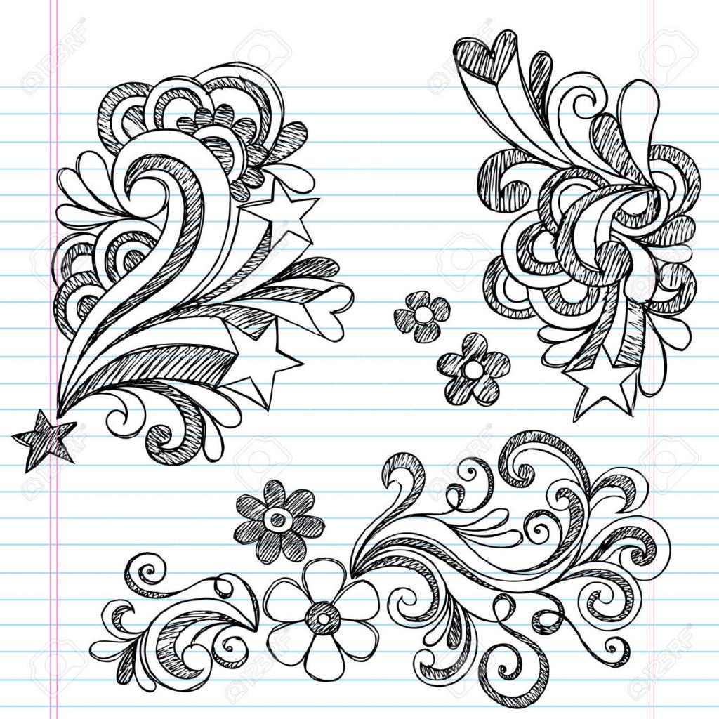 1024x1024 Flowers Design Drawing Easy Flower Designs Drawings Flower Designs