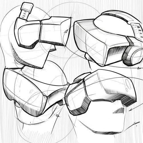 500x500 Industrial Design Sketchbook