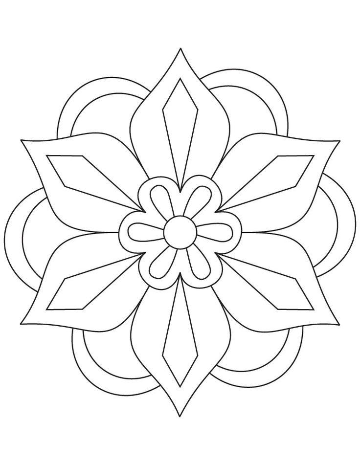 736x951 Gallery Easy Rangoli Designs To Draw,