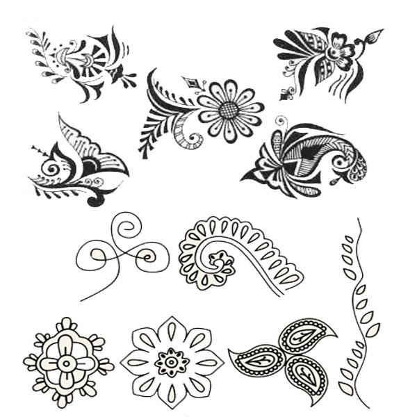 600x600 26 Original Mehndi Design For Kids To Draw