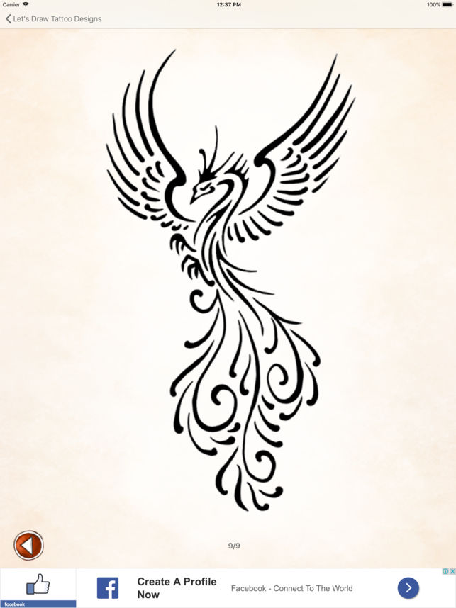 643x858 Let's Draw Tattoo Designs On The App Store