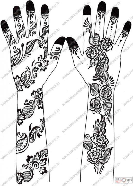 517x720 Arabic Mehndi Designs Drawings. Gallery Of Arabic Mehndi Mehndi