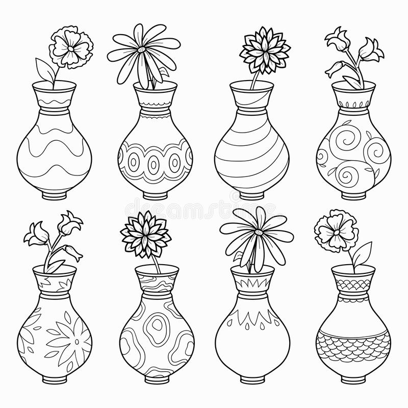 800x800 Photos Vase Drawing Designs,