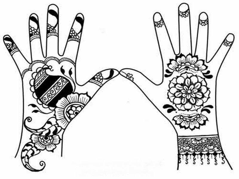 800x600 Henna Drawings Simple