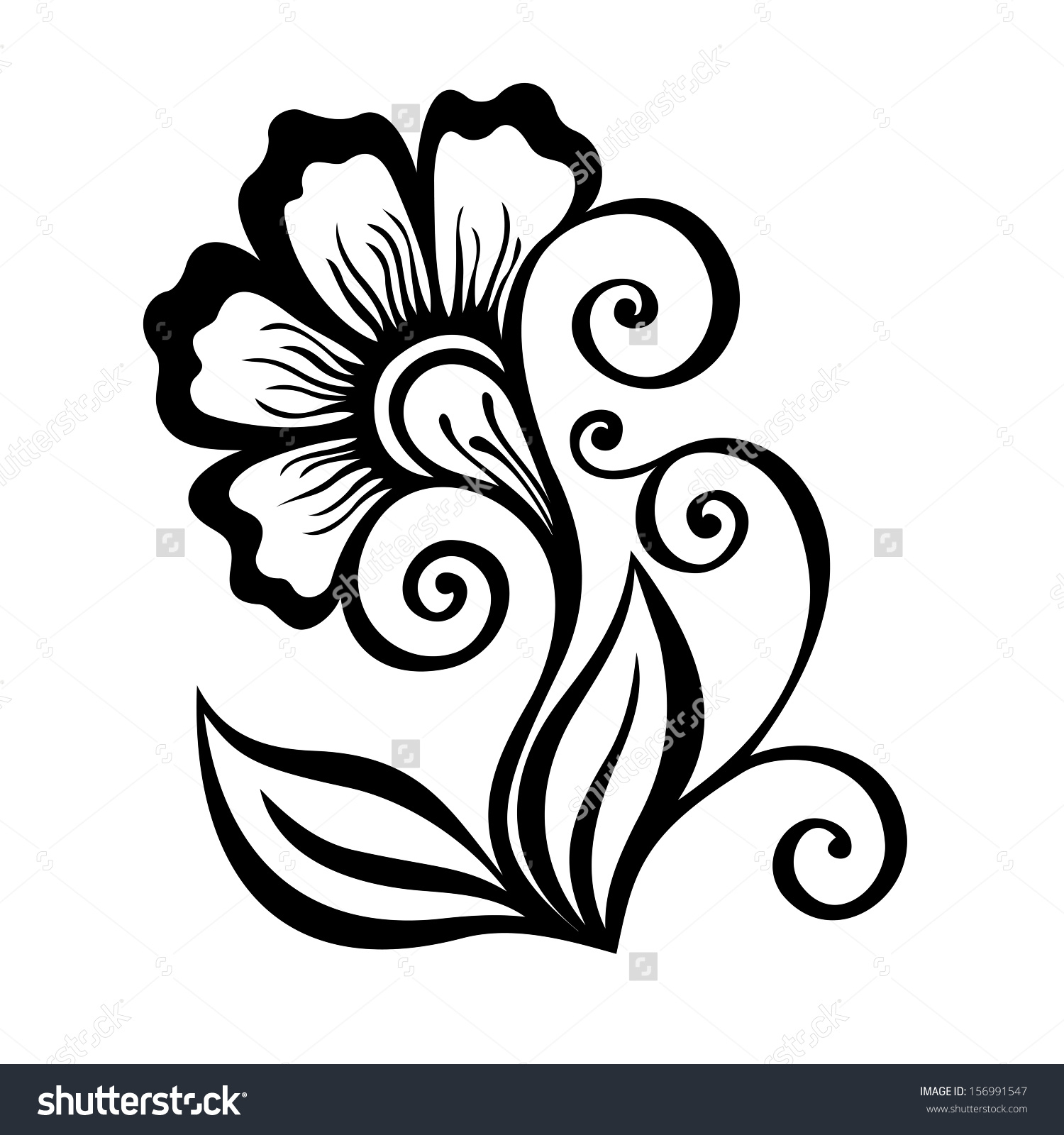 1500x1600 Beautiful Flower Designs To Draw Easy