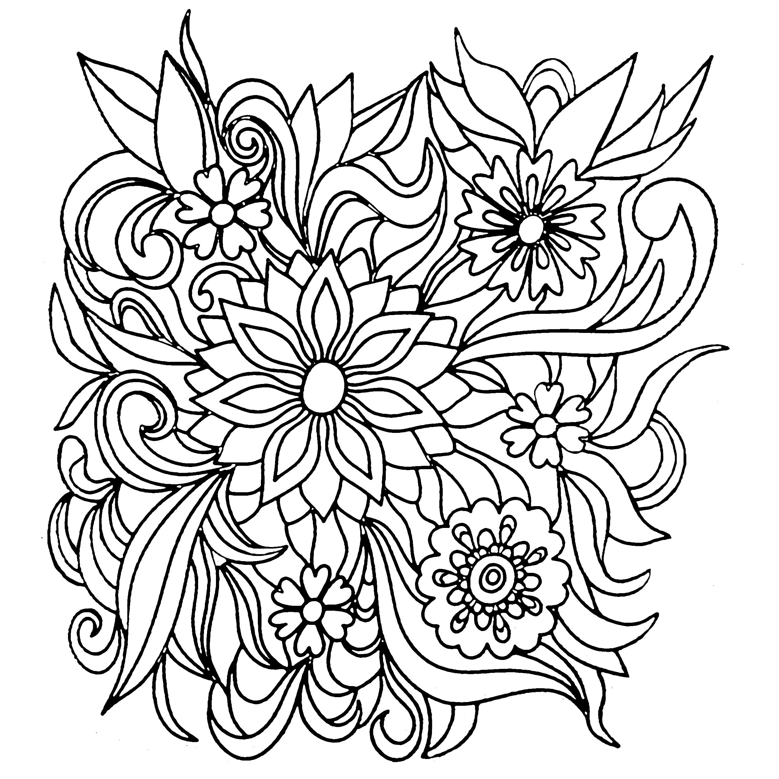 2532x2532 Palma And Monkey Nature Coloring Page For Kids New Nature Black