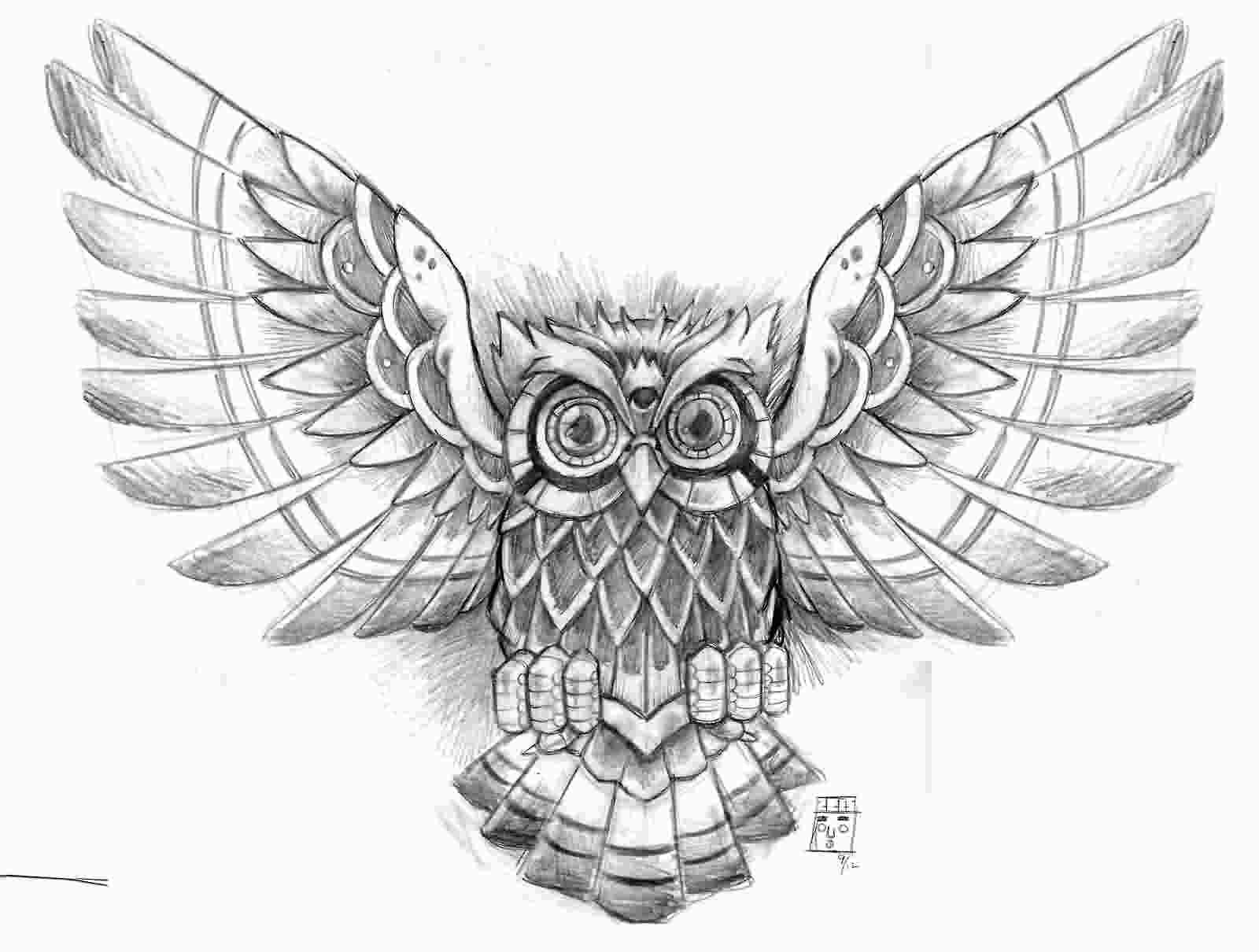 1600x1210 Meaningful Drawings Sketches Beautiful Tattoo Ideas Beautiful Owl