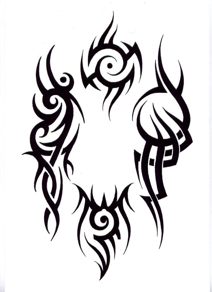 743x1024 Tribal Tattoo Designs On Arm 802 Tribal