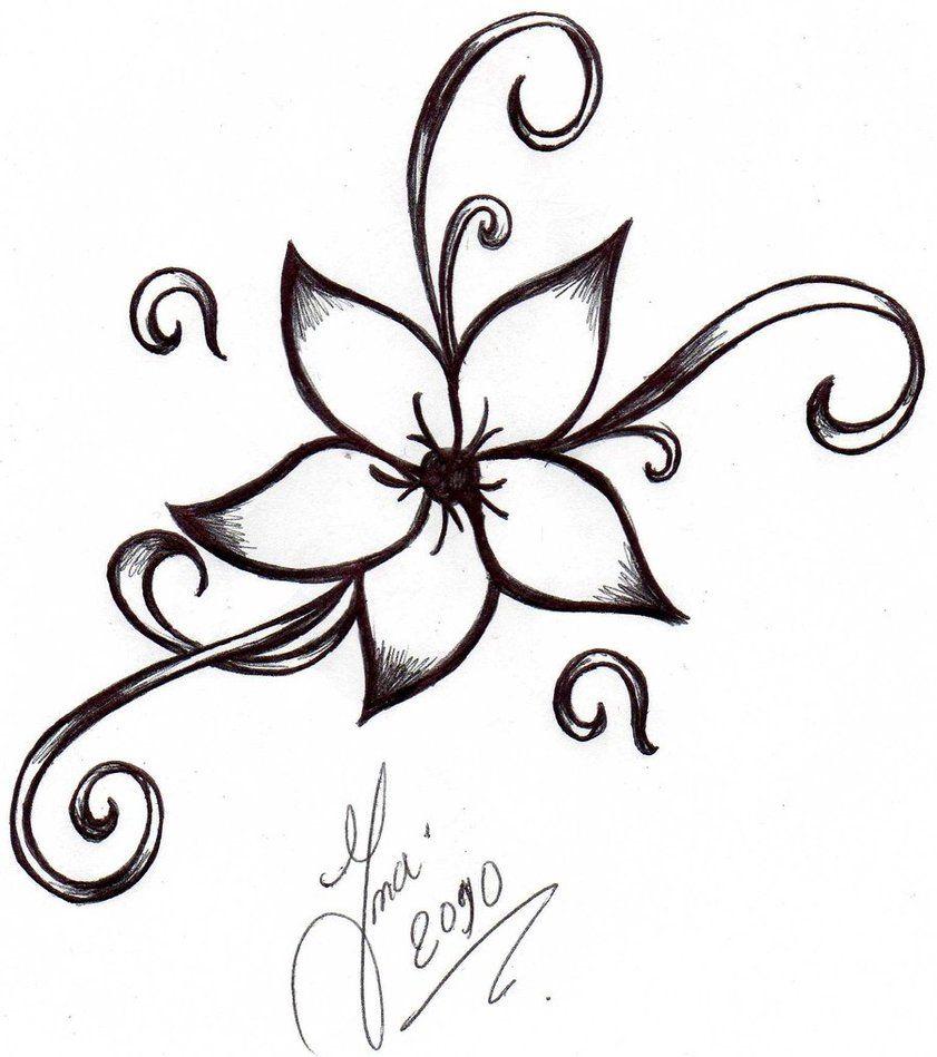 841x949 Flower tattoo designs Flower Tattoo By Shizuka Dono