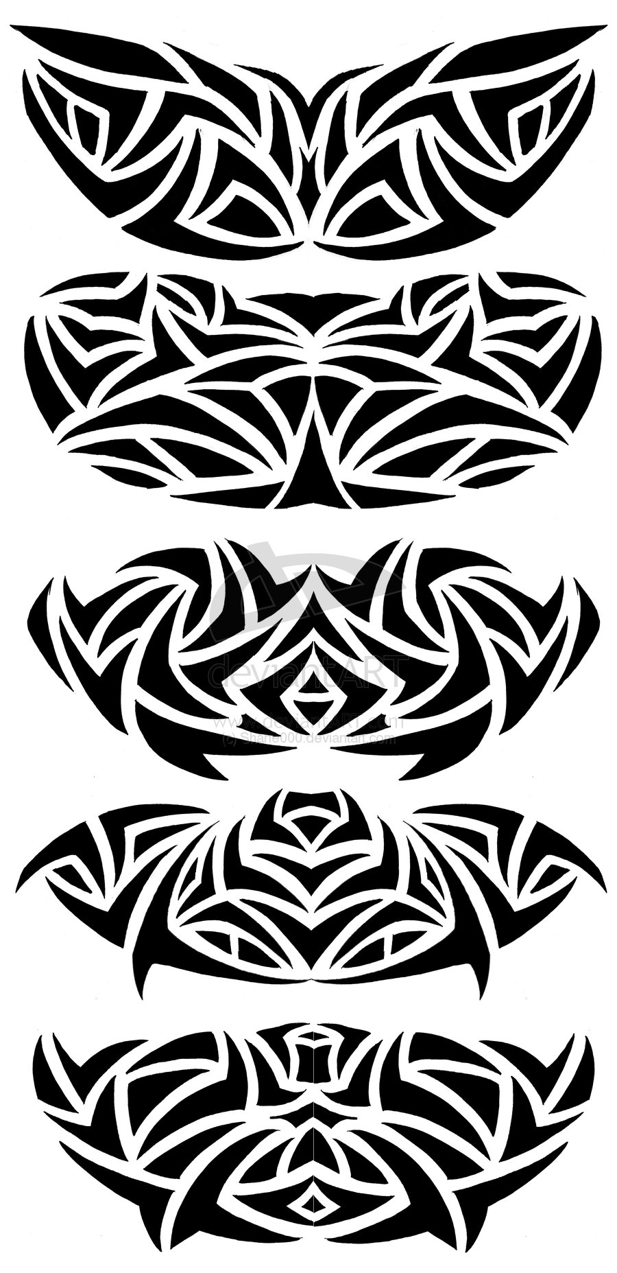 900x1855 Tumblr Tribal Chest Tattoo Design 2015
