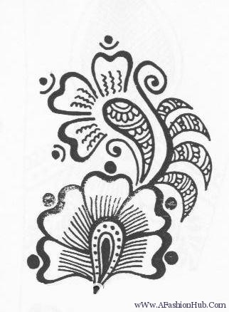 322x438 Gallery Mehndi Drawing Pictures,