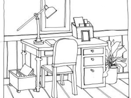 Desk Drawing At Getdrawings Com Free For Personal Use Desk Drawing