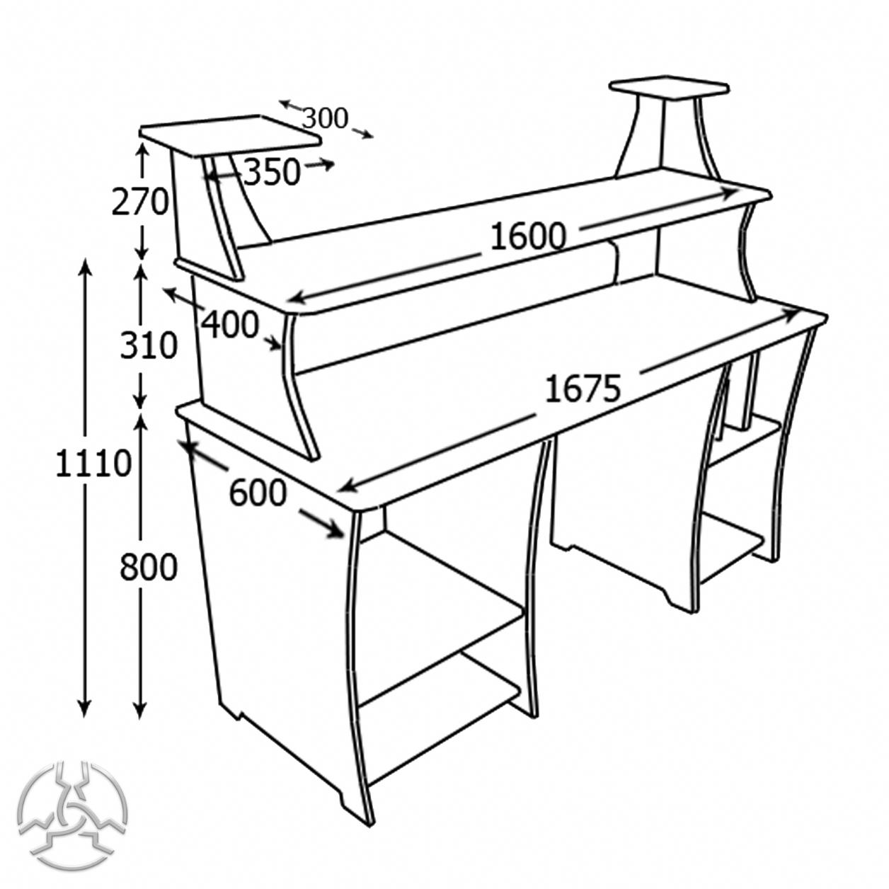 1256x1256 Pd1 Production Dj Desk