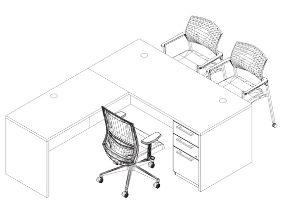 570x430 Brand Name In Stock Office Furniture Sets