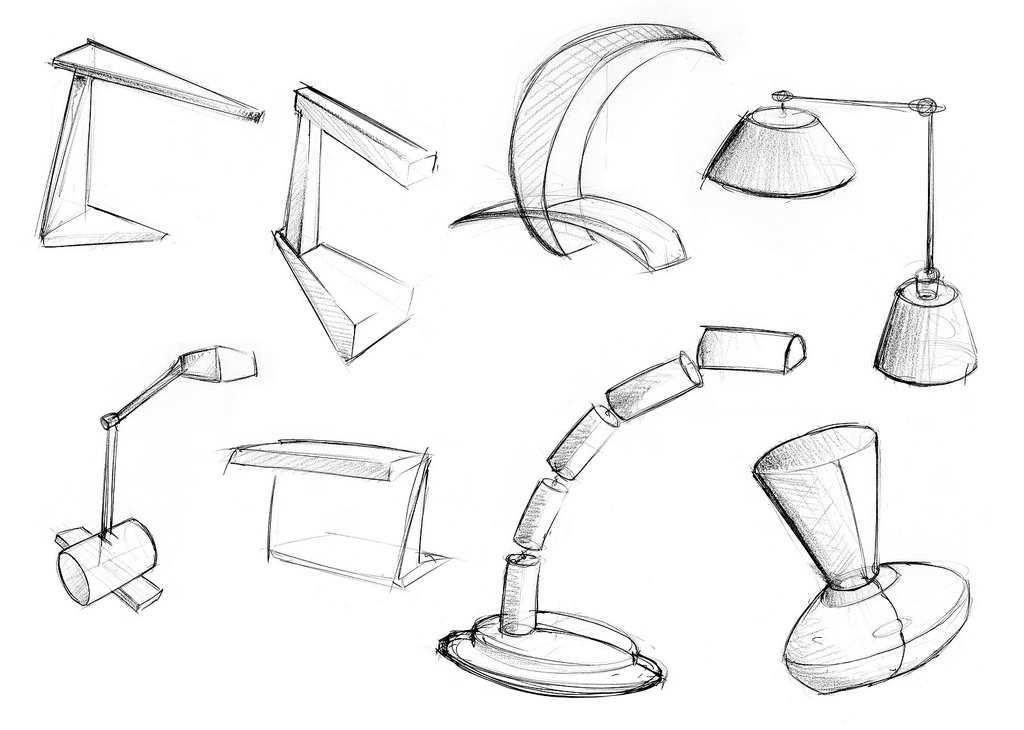 1024x730 Desk Lamp Ideation 3 Greg Hayter