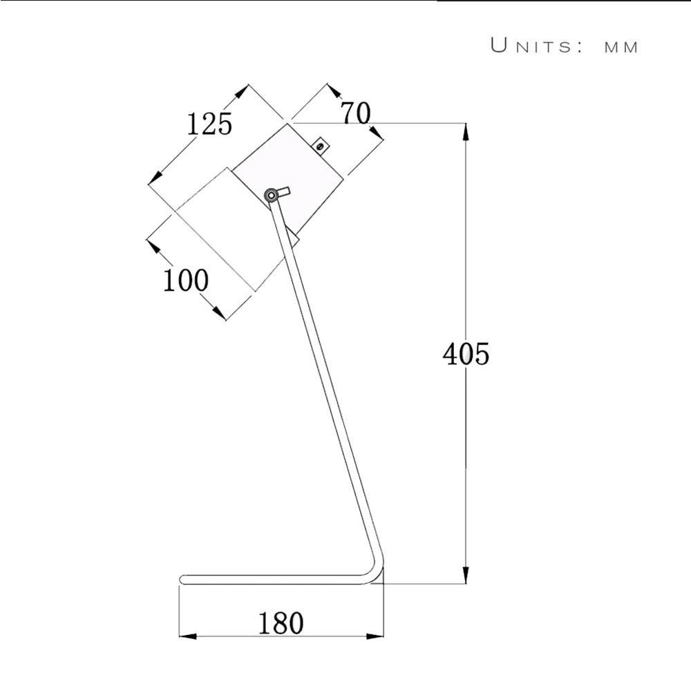 1000x1000 Creative Diy Assembles Wooden Desk Light Table Lamp Iron Holder