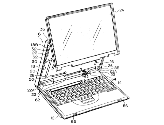645x493 Wild Ibm Laptop Patents Telescoping Screen, Pop Up Magnifier,