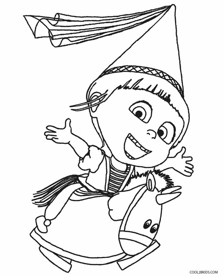 733x906 Awesome Despicable Me Coloring Pages 76 With Additional Online
