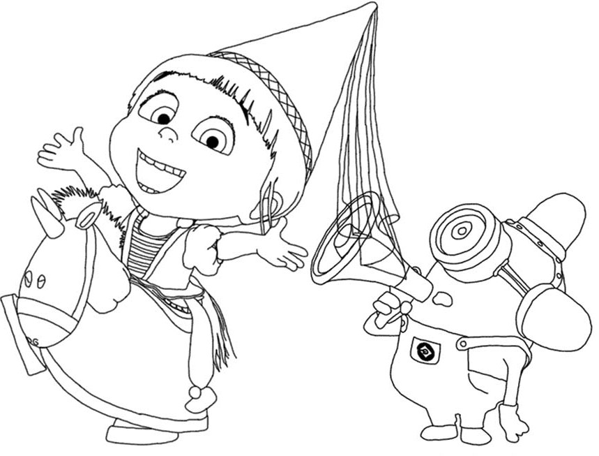 Despicable Me Agnes Drawing At GetDrawings