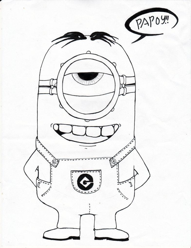785x1018 Despicable Me Drawing Despicable Me Minionarghienghootz