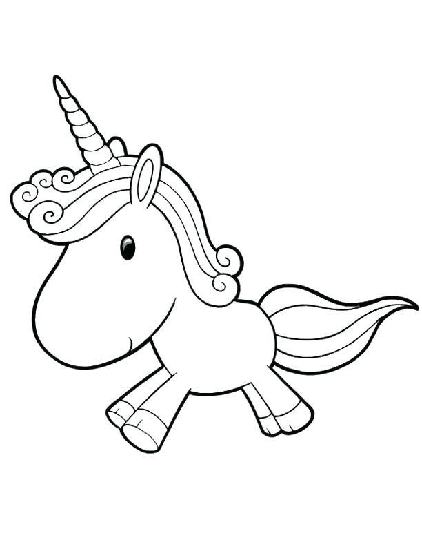 612x792 Easy Unicorn Coloring Also Drawn Unicorn Unicorn Head 121